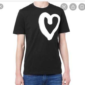 Acne heart t-shirt